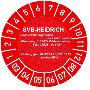 ehs,abnahmen,prüfungen, BGVA3,VDE0113